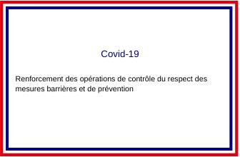 [Covid-19 : respect des mesure…