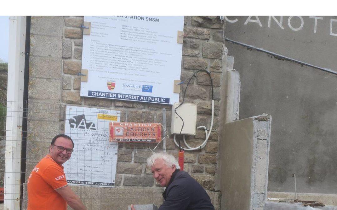 Ouessant. SNSM : le chantier de la station débute à Lampaul