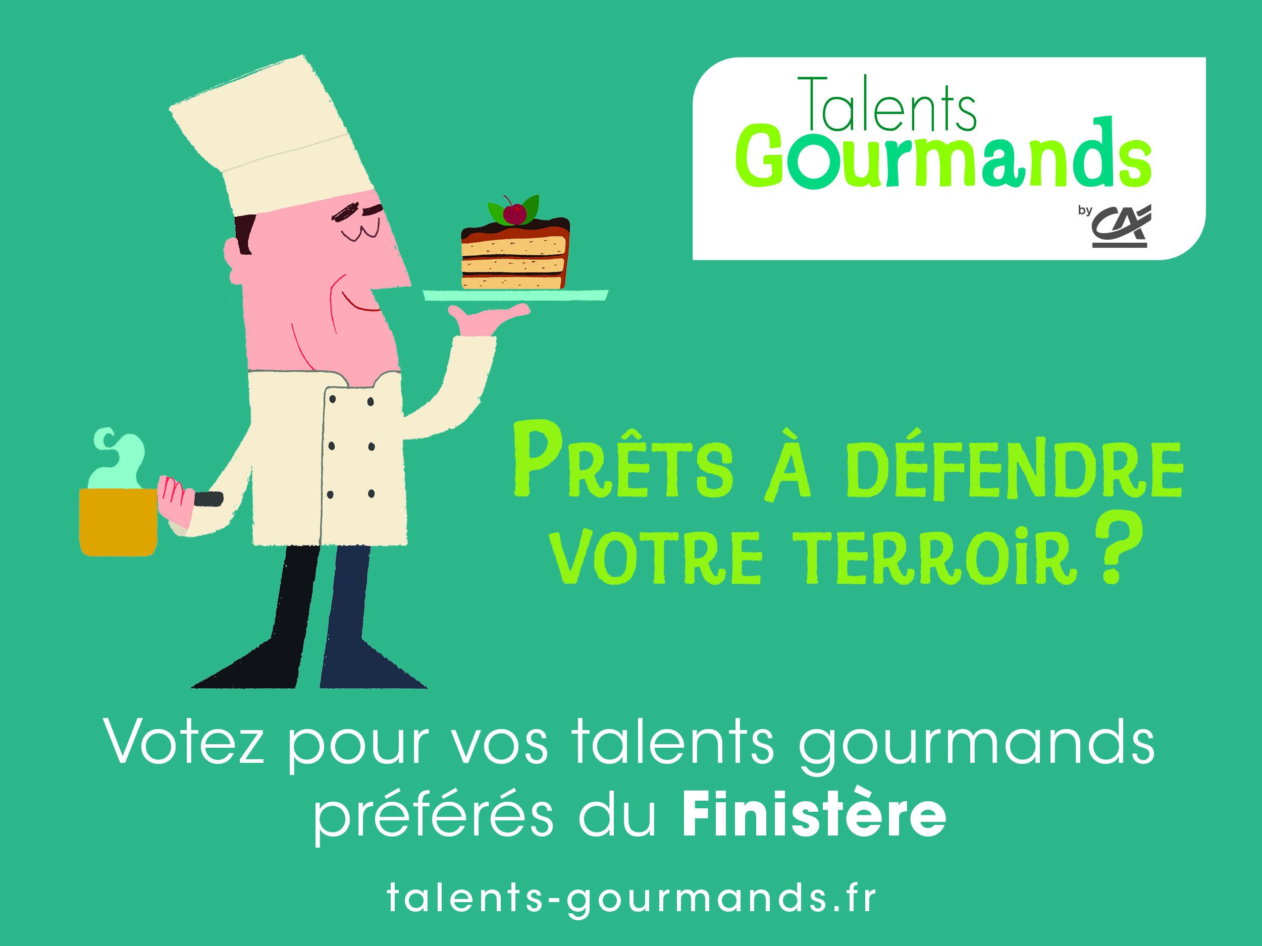 Talents Gourmands Finistère : vote du public !